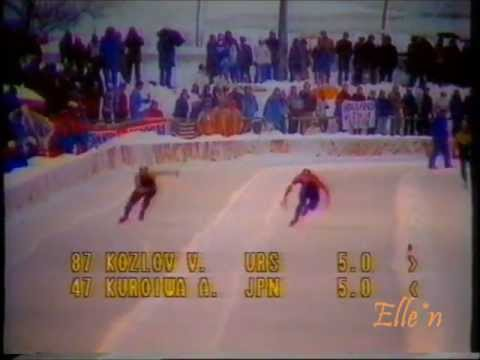 Olympic Winter Games Sarajevo 1984 – 500 m men (2 races)