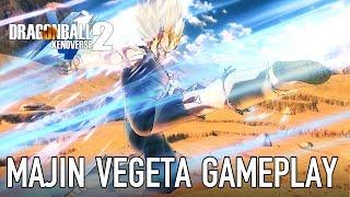 Dragon Ball Xenoverse 2 - Majin Vegeta Gameplay