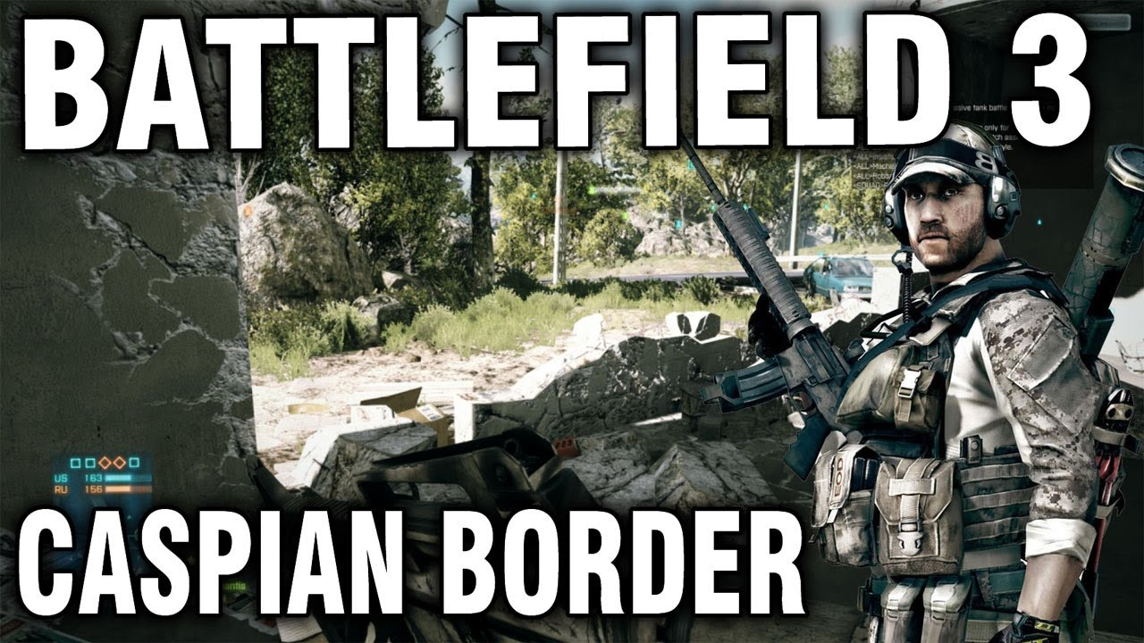 Caspian Border Commentary Gameplay