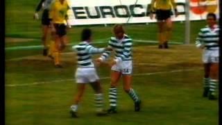Akranes - 0 x Sporting - 9 de 1986/1987 Uefa