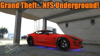 GTA 5 Xbox One/PS4 Underbody Neons And Car