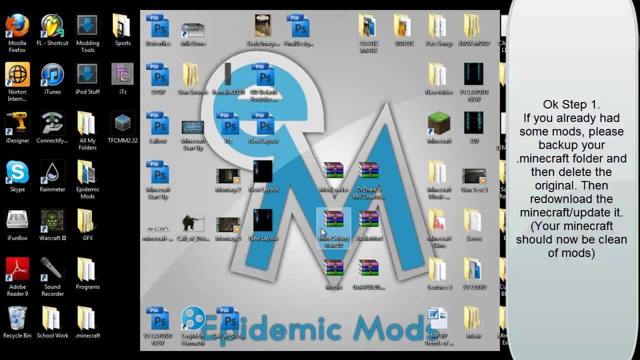 GWM: How To - Install MC Mods (via TFC's Mod Manager ...