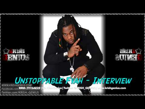 Unstoppable Fyah – Interview | Reggae, Dancehall, Bashment