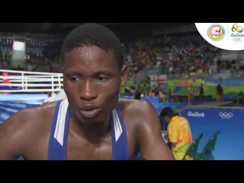 Quyền anh nam hạng cân 56kg vòng loại: Belarus - Cộng hòa Dominica