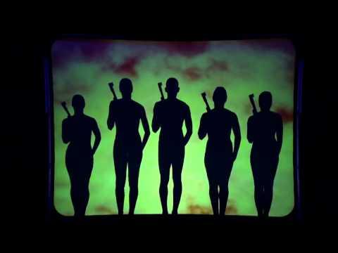 Đỉnh cao của nghệ thuật múa qua bóng người - the amazing sturning shadow performance