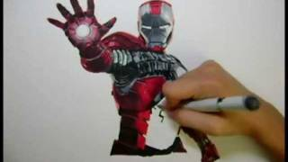 The Avengers: Iron Man Drawing