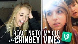 REACTING TO MY OLD CRINGEY VINES