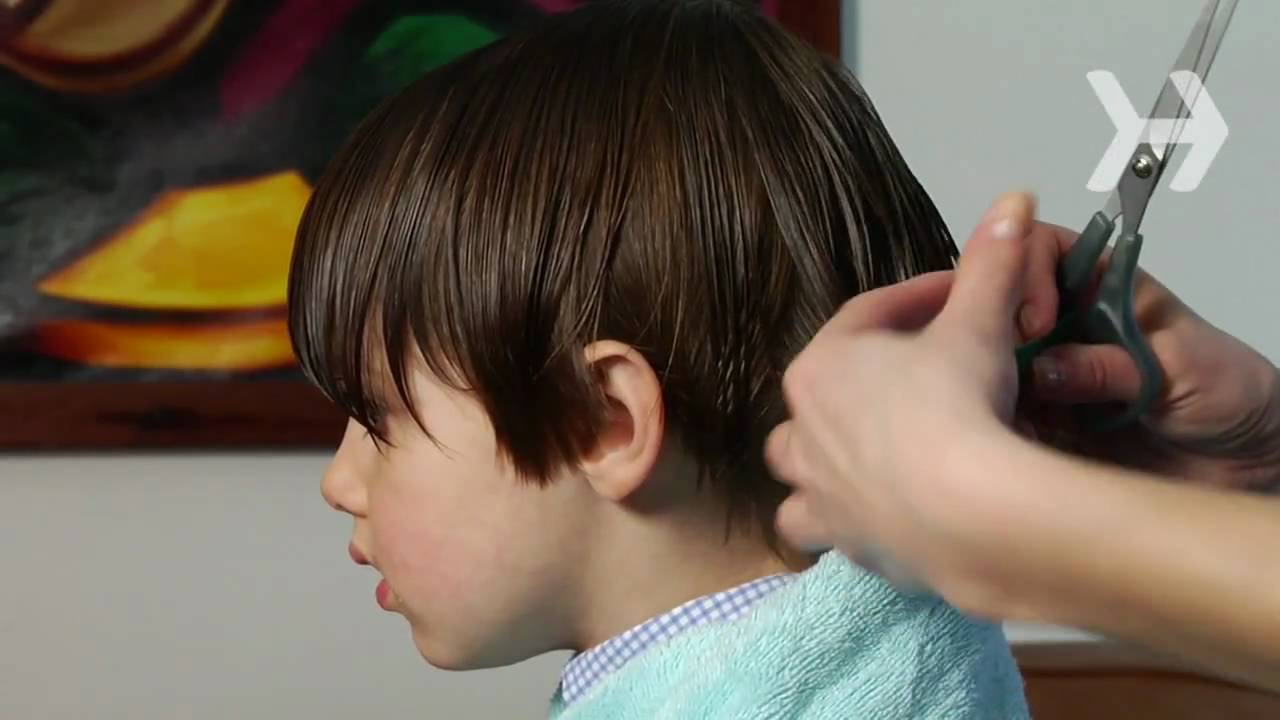 How to Cut Boys Long Hair