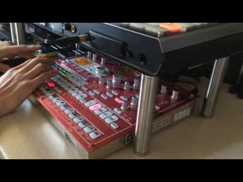 Korg ESX-1 SD, Step Sequence Test Play.