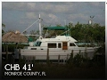 Used 1982 CHB 41 Double Cabin Trawler for sale in Key Largo Florida