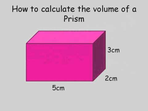 How to calculate the volume of a rectangular prism.wmv
