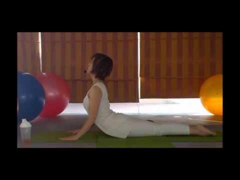 [Yoga trị liệu] Rắn hổ mang chữa bệnh đau lưng, tốt cho cơ quan sinh sản, giảm mỡ bụng trên.