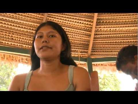 Convite dos índios do Xingu para encontro em Altamira, dia 1 Dezembro