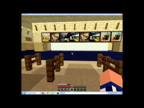 Minecraft Stadium - Bolton Wanderers - Reebok, This is my stadium built with the sandbox game Minecraft. It is supposed to represent the Reebok Stadium, home to Bolton Wanderers. It has been created witho...