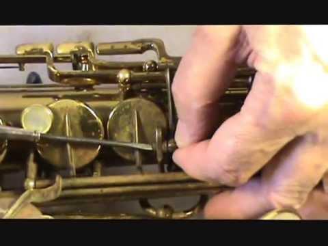 MK VI Allto Saxophone Repad Sample