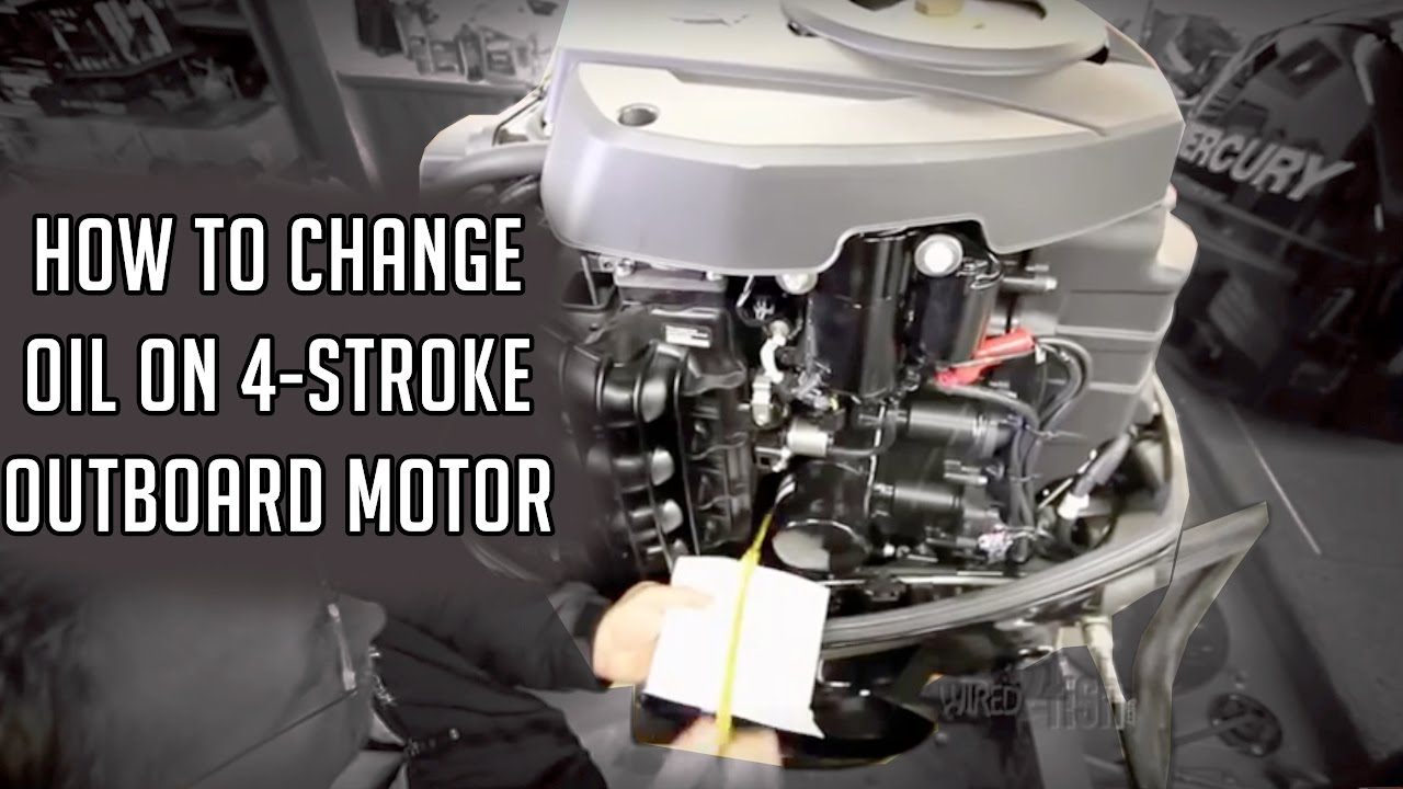 How To Change Oil On A 4-stroke Outboard