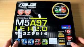 """Un-Boxing: ASUS M5A97 LE R2.0 Motherboard! """"Deal Extreme!"""""""