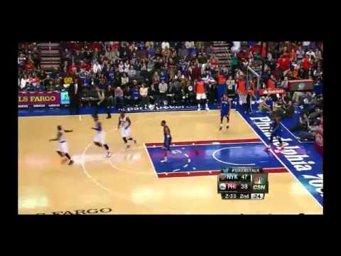 NBA CIRCLE - New York Knicks Vs Philadelphia 76ers Highlights 11 Jan. 2014 www.nbacircle.com