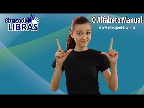 Curso de Libras - O alfabeto manual