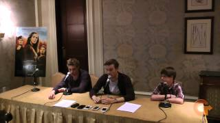 The Host  Interview with Max Irons, Jake Abel and Chandler Canterbury
