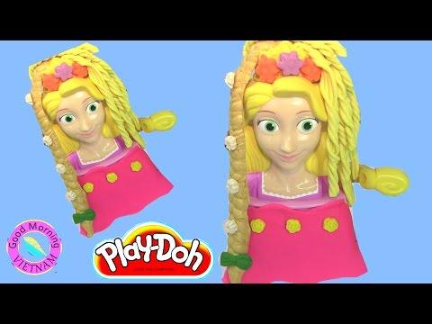 Tạo Kiểu Tóc Công Chúa Rapunzel Bằng Bột Nặn Play - Doh Princess Rapunzel Play - Doh Hair Styling