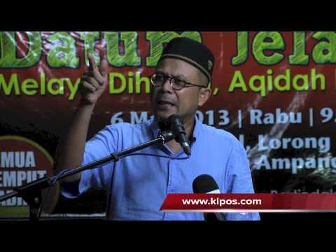 Insiden Lahad Datu : Tian Chua Menghina Pasukan Polis - Zulkifli Noordin 6/2/2013
