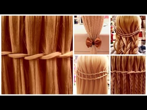 Waterfall Twist Tutorial - Easy Summer Hairstyles - Coafuri Simple Impletite + BONUS Martisor
