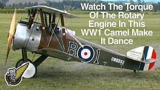 Sopwith Camel Rotary Engine Rock 'n' Roll