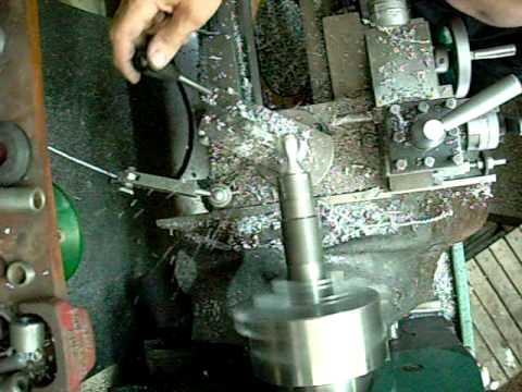 Como hacer una esfera con un torno mecánico