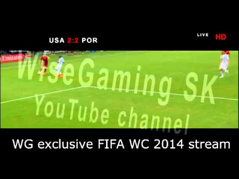 Silvestre Varela OT equalizing goal (2014 FIFA WC USA - Portugal 2:2) HD