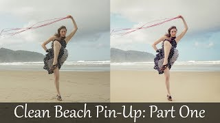 Adobe Photoshop Tutorials CS6 How To Clean Model Pin-up