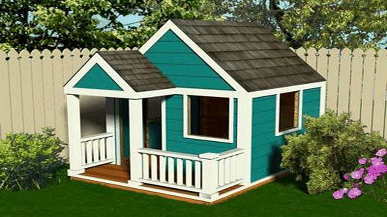 16 fresh plans for a playhouse house plans 60858 for Playhouse with garage plans