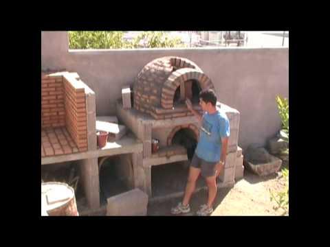 Horno de le a de la familia p rez alonso 2 parte con - Calentar horno de lena ...