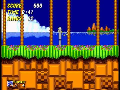 Sonic the Hedgehog 2 - Sonic the Hedgehog 2 Zone 1 (GEN) - User video