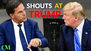 """NO!!!"" Dutch Prime Minister TELLS OFF TRUMP Right To His Face (Body Language Breakdown)"