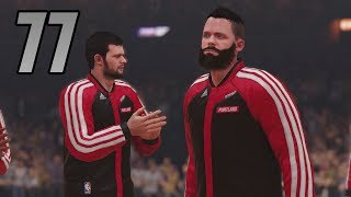 NBA 2K14 PS4 My Player Career (Part 77 The King Is