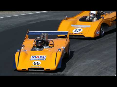 Eoin Young talks with Michael Clark about McLaren Motor Racing and the Bruce and Denny Show