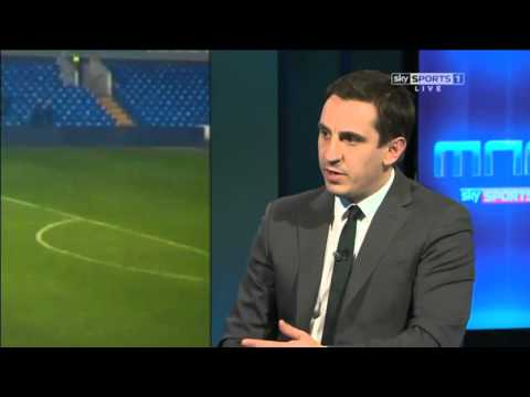 Gary Neville talks about how close Jay Rodriquez was to going to the World Cup