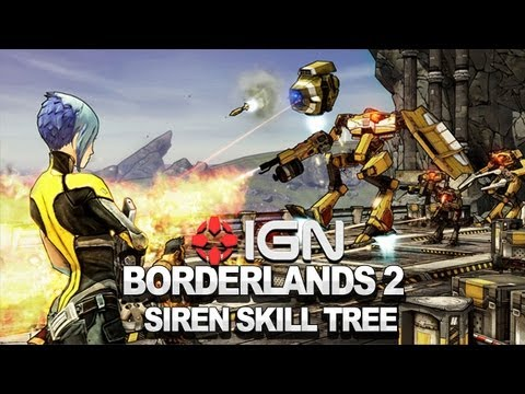 Borderlands 2 Developer Walkthrough: Siren Skill Tree