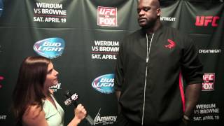 UFC on FOX 11: Shaquille O'Neal Interview