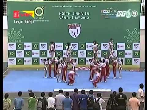 Cheerleading ĐH Kiến Trúc ĐN 02/12/2012
