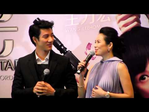 Wang Leehom & Zhang Ziyi at the ArtScience Museum