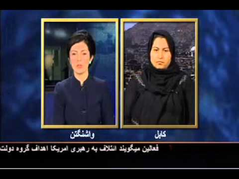 Lina Rozbih's Interview with Humira Saqeb, onUnity Government in Afghanistan