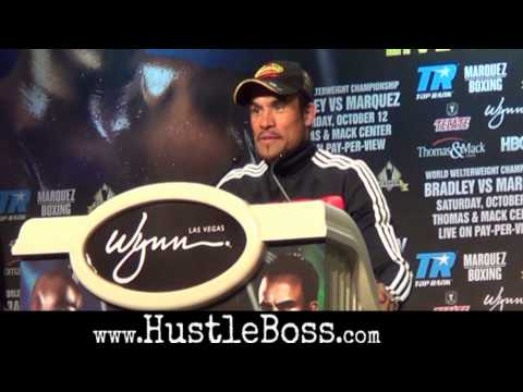 Tim Bradley vs. Juan Manuel Marquez final press conference highlights [HD]