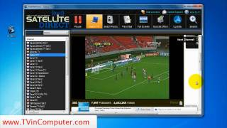 Live Soccer Satellite Direct TV To PC Software Review