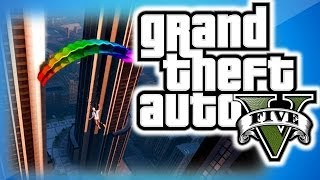 GTA 5 Online Funny Moments 11 IAA Building Fun, Trolling