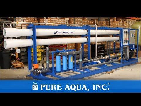 Pure Aqua| Industrial Seawater Reverse Osmosis Saudi Arabia 46,000 GPD