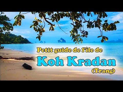 guide de l'île de koh kradan (trang)