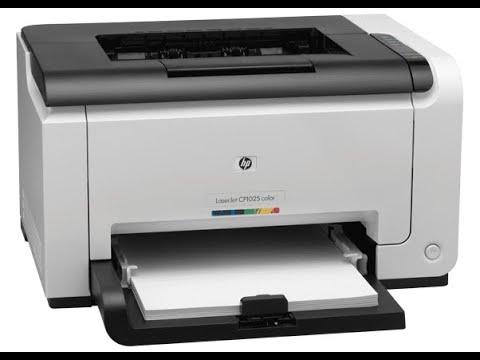 Обзор принтера  HP Color LaserJet Pro CP1025 (CF346A) Цветной Лазерный Принтер Hewlett-Packard