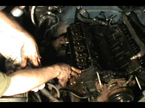 Part 2, Vortec 5.7 350 head gasket, water pump & timing chain replacement, Chevy/ GMC